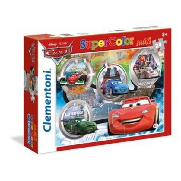 Cars Puzzle 24 pièces