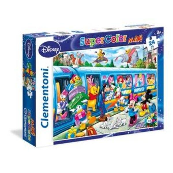 Le train Disney Puzzle 24 pièces
