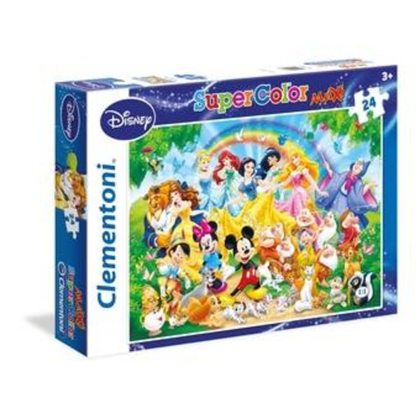 La famille Disney Puzzle 24 pièces