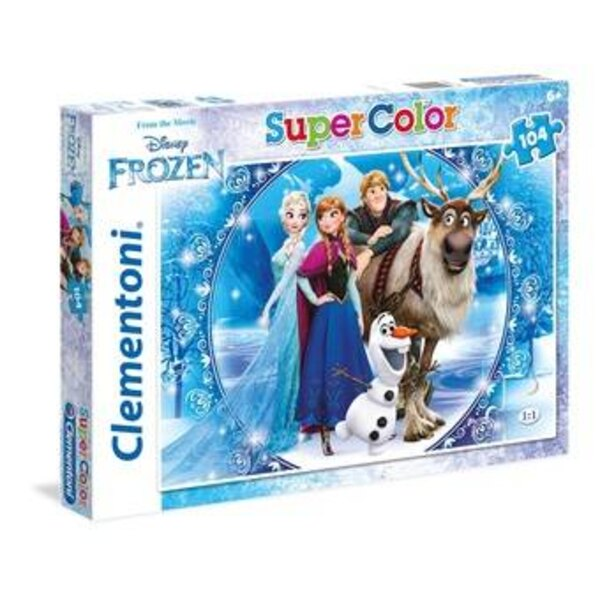 La Reine des Neiges Puzzle 104 pièces