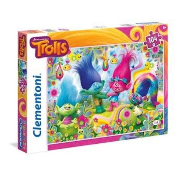 Trolls Puzzle 104 pièces