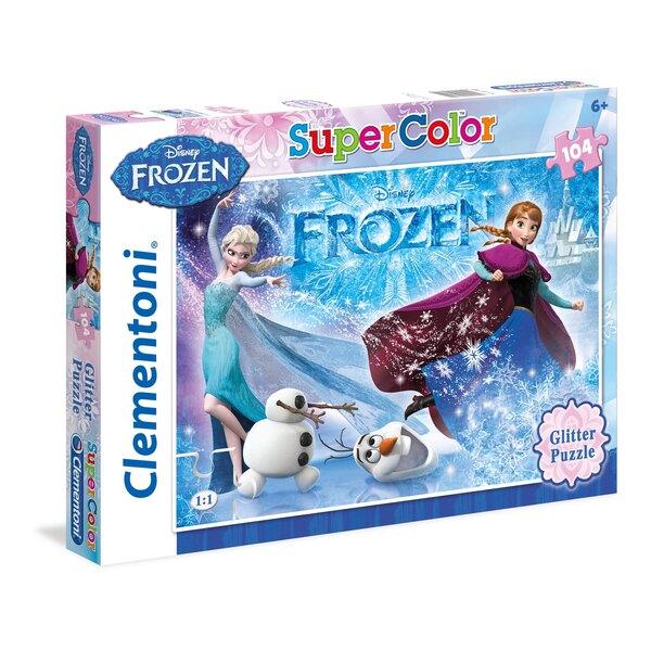 La Reine des Neiges - à paillettes Puzzle 104 pièces