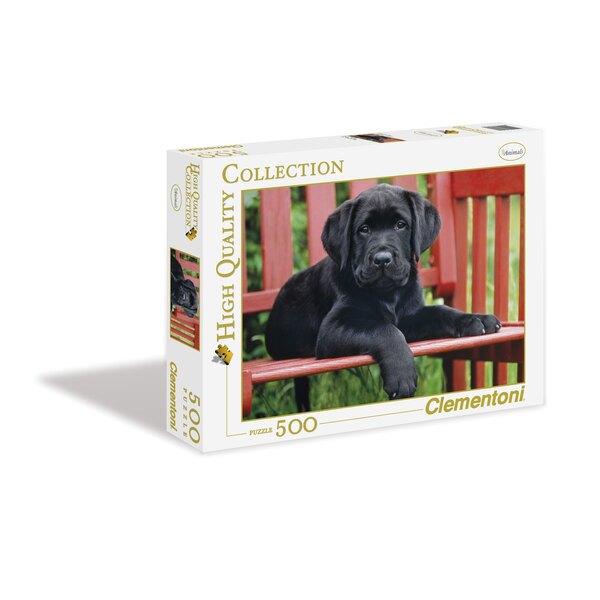 Le chien noir Puzzle 500 pièces
