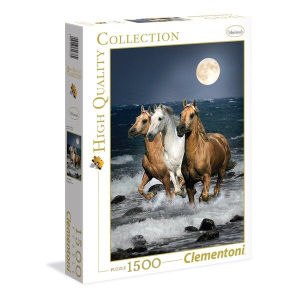 Les chevaux de Corse Puzzle 1500 pièces