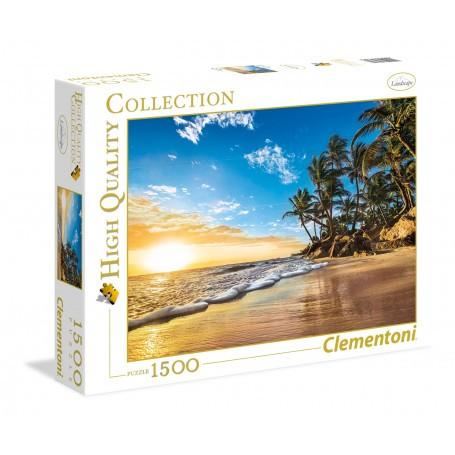 Lever de soleil tropical Puzzle 1500 pièces