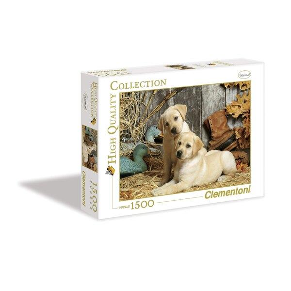 Les chiens de chasse Puzzle 1500 pièces