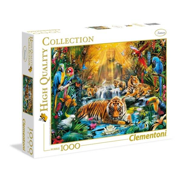 Les tigres mystiques (A2x1) Puzzle 1000 pièces