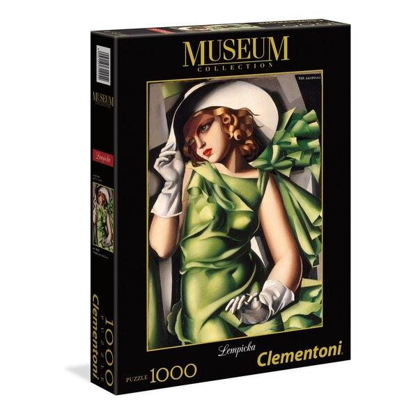 Tamara de Lempicka - Jeune fille en vert Puzzle 1000 pièces