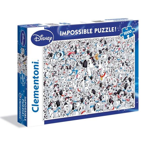 101 Dalmatiens Puzzle 1000 pièces