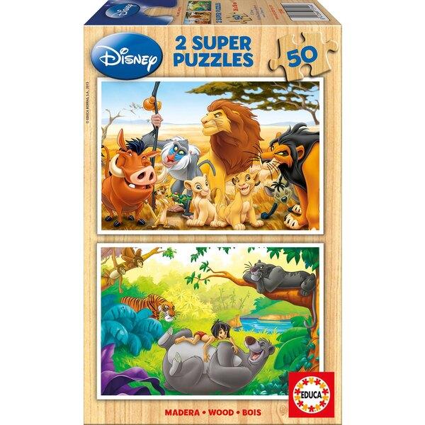 Animal friends Puzzle 50 pièces