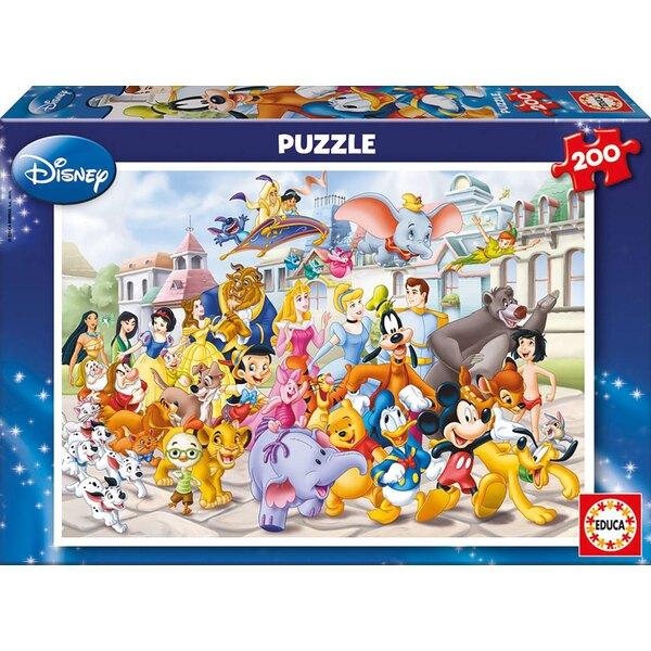 Defile disney Puzzle 200 pièces