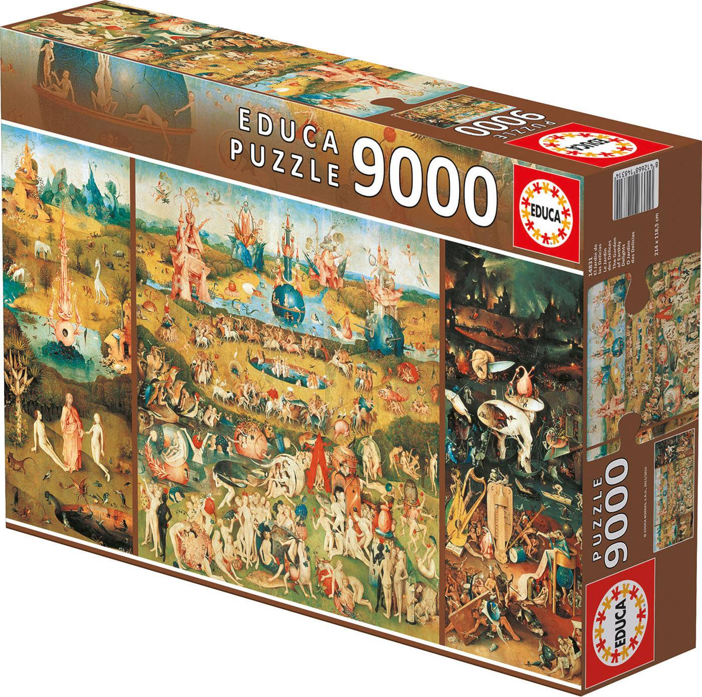 Puzzle xxl - Le jardin des delices 9000 pièces--Educa