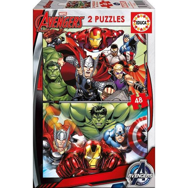 Avengers Puzzle 2 pièces