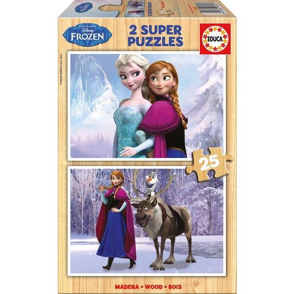 La reine des neiges Puzzle 2 pièces