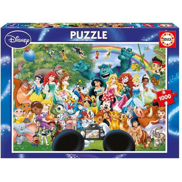 Le merveilleux monde de disney ii Puzzle 1000 pièces