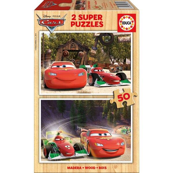 Cars Puzzle 2 pièces