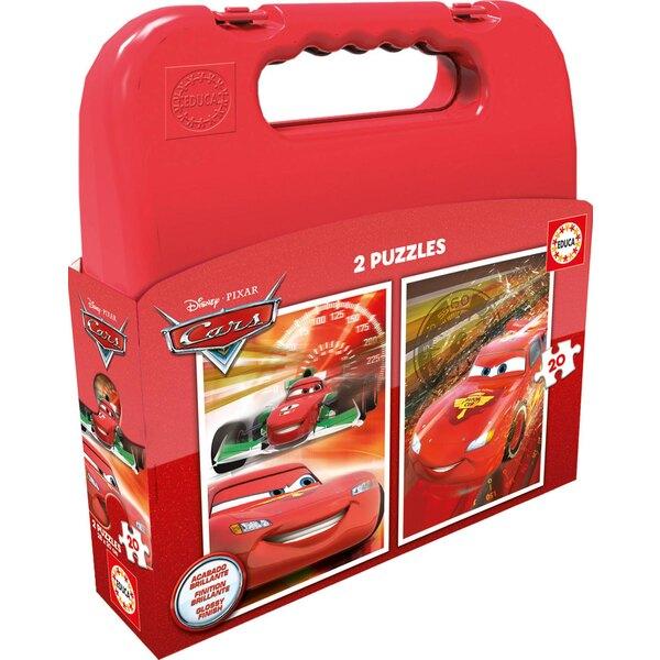 Malette cars 20 pièces