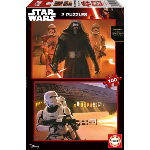 Star wars star wars vii : le reveil de la force Puzzle 2 pièces