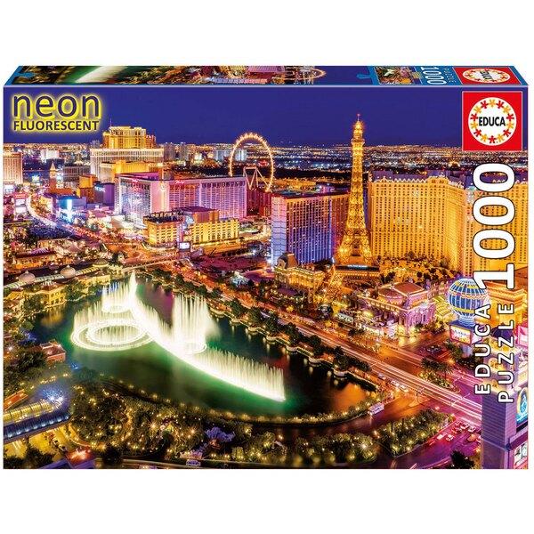 Las vegas neon Puzzle 1000 pièces