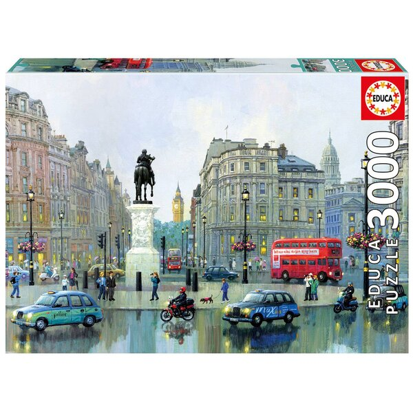 London charing cross Puzzle 3000 pièces