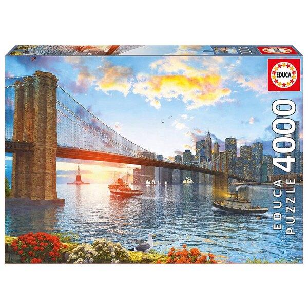 Pont de brooklyn Puzzle 4000 pièces