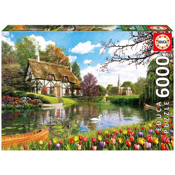 Lakeside cottage Puzzle 6000 pièces