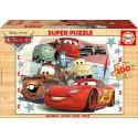 Puzzle Bois cars Educa EDUCA-16800