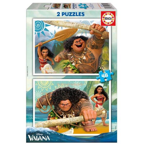 Vaiana Puzzle 2 pièces