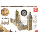 3d monument puzzle big ben & parliament