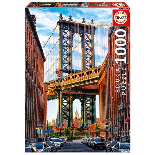 Pont de manhattan, Puzzle 1000 pièces