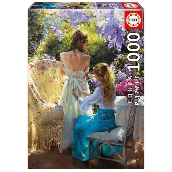Printemps, vicente romero Puzzle 1000 pièces