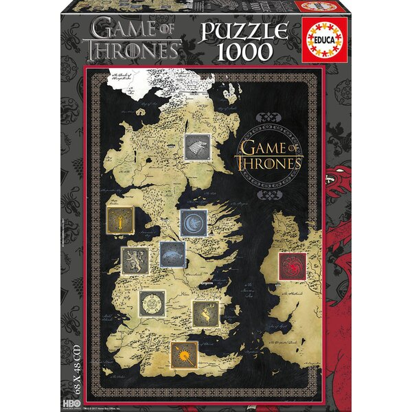 Game of thrones Puzzle 1000 pièces