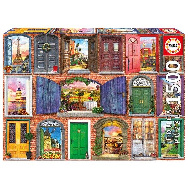 Portes de l'europe Puzzle 1500 pièces