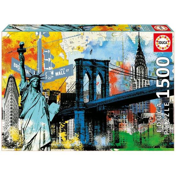 Liberté en ville Puzzle 1500 pièces