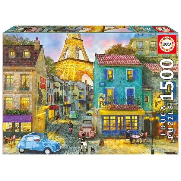 Rues de Paris Puzzle 1500 pièces