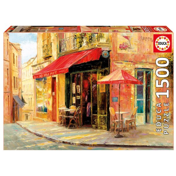 Hillside cafe, haixia liu Puzzle 1500 pièces