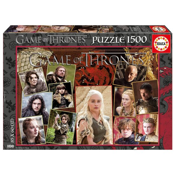 Game of thrones Puzzle 1500 pièces