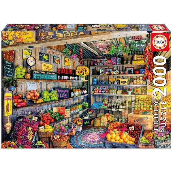 Épicerie Puzzle 2000 pièces