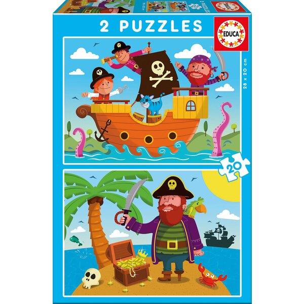 Pirates Puzzle 20 pièces