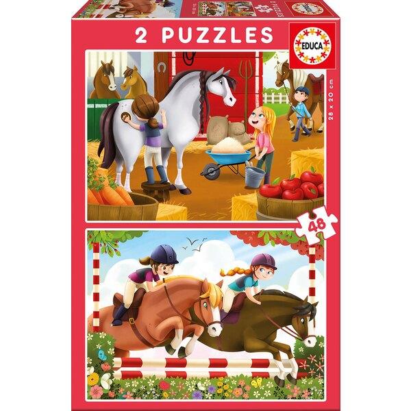 Chevaux Puzzle 48 pièces