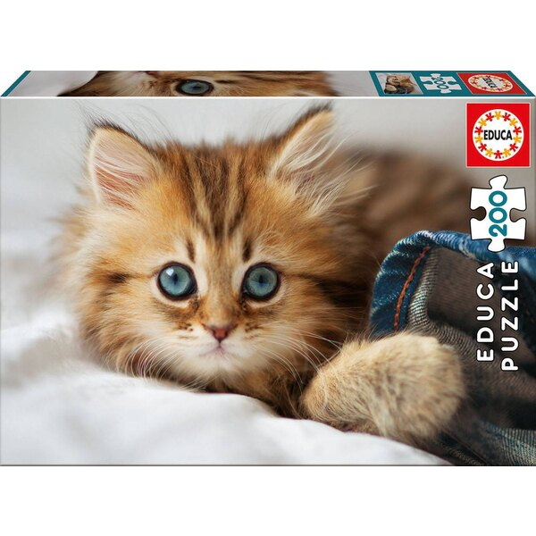 Kittens and puppies Puzzle 200 pièces