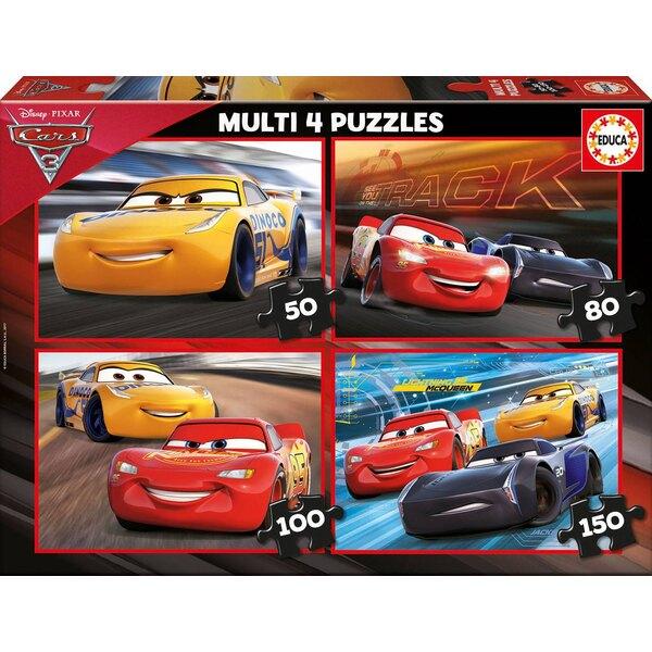 Multi 4 cars 3 50 pièces