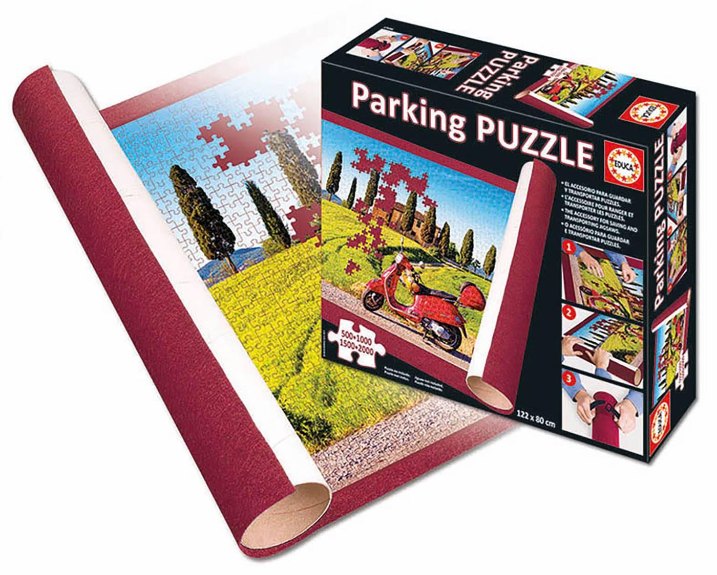 Puzzle - New educa® parking puzzle Puzzle 1 pièces--Educa
