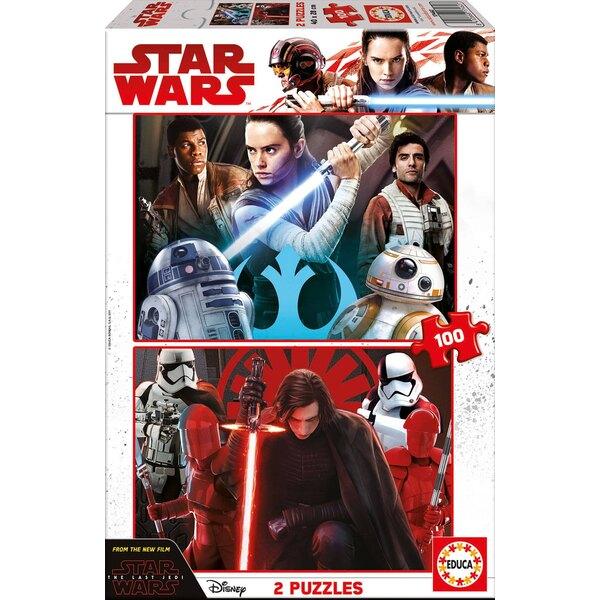 Star wars episode viii Puzzle 2 pièces
