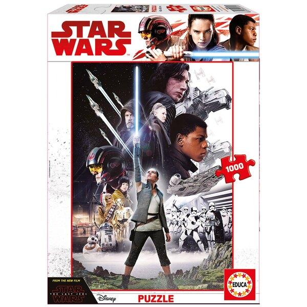 Star wars episode viii Puzzle 1000 pièces