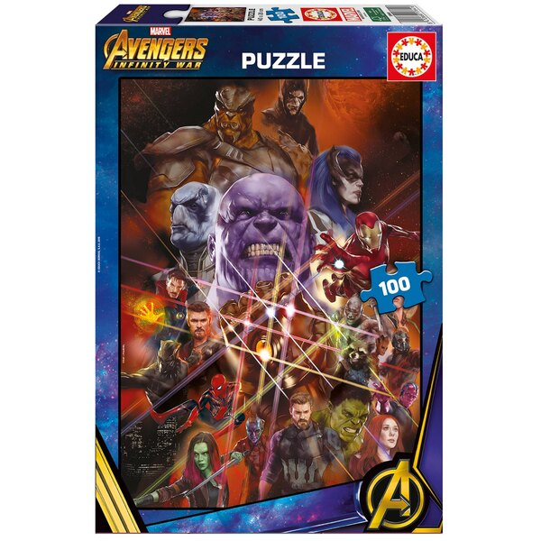 Avengers infinity war Puzzle 100 pièces