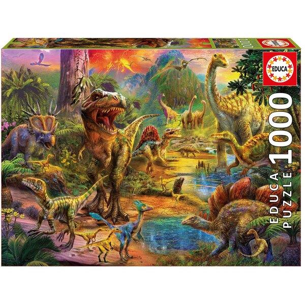 Puzzle Terre de dinosaures
