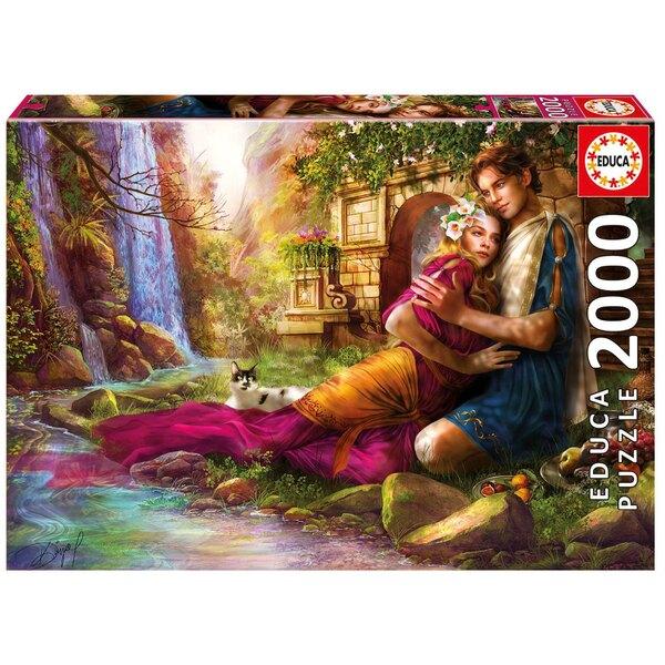 Jardin secret Puzzle 2000 pièces