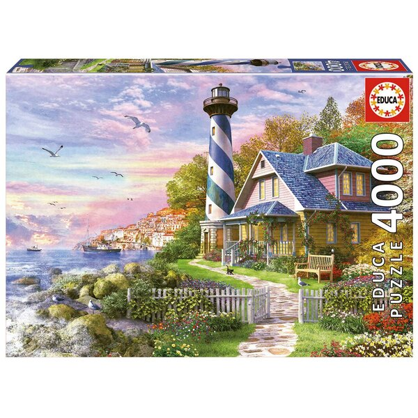 Phare a rock bay Puzzle 4000 pièces