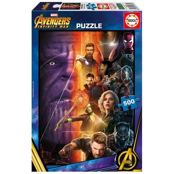 Avengers : infinity war Puzzle 500 pièces